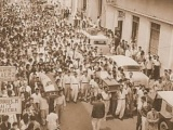 NICARAGUA.- 23 de julio de 1959: Luis Somoza masacra protesta estudiantil en León.