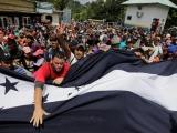 CENTROAMÉRICA.- La segunda caravana de migrantes muestra las llagas sangrantes de Centroamérica